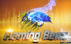 Flaming Beez Wallpaper 2 by Ahmed7193