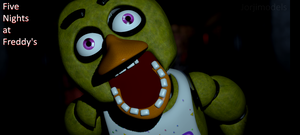 Chica the Chicken by jorjimodels
