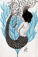 Litlle Mermaid Death by MySweetDarkness