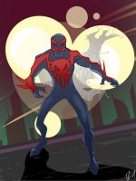 Spider-Man 2099 by RevDenton