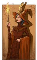 Minerva McGonagall by WhiteElzora