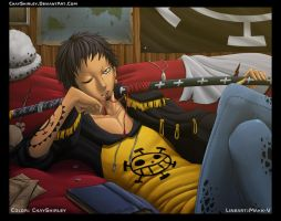 Trafalgar Law by CkayShirley