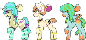 ponie adopts batch 4 [CLOSED] by togekissuadopts