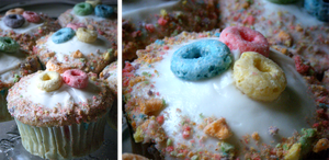 Fruit Loop Cupcakes by Windnstorm
