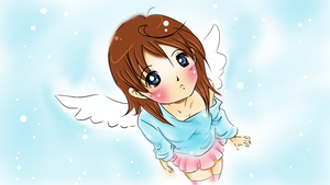 angel in the snow by wowmom-penemily