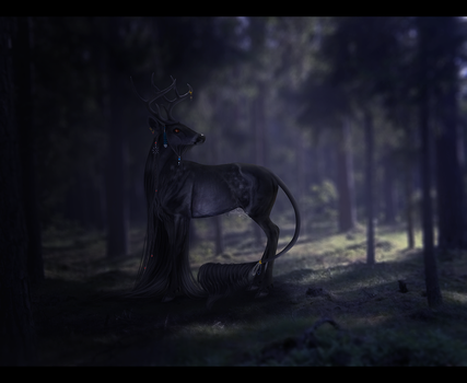 edge of night, by melancholycoyote