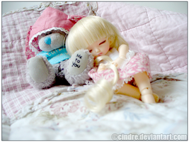 BJD:Eve: sleep by cindre