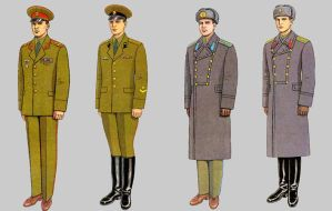 Soviet Army Uniforms 41 by Peterhoff3