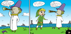 Why Link never talks by Whaleshooter
