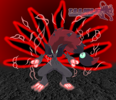 Zoroark, The Devil Fox by Hanimetion