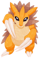 sandslash by DarkRainbowAngel