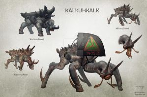 Kalkuhkalk Breeds by Kalgrost