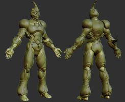 Guyver High Poly by 31883milesperhour