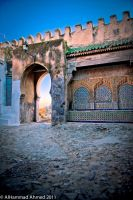 tanger old gate by abo3ziz
