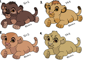 Baby Fancubs -Draw to Adopt- Open~ by Dani-Dan