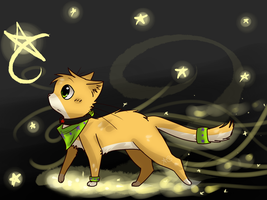 Art Trade-Follow the Star by FoxLover12