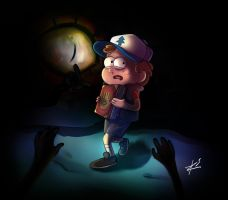 Sometimes the walls,too,are the eyes Gravity Falls by Netrorev