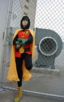 Damian Wayne: Wind Tunnel by kay-sama