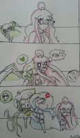 [random comics] spider bite (?) by superfrancy77