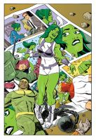She-Hulk by deankotz