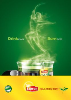 LIPTON GREEN TEA DIET AD by HABASHY