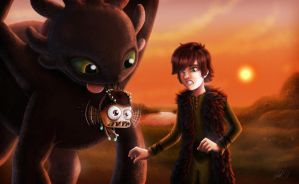 Drop the Minion Toothless by ryodita