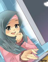 Girl hijab by saurukent