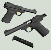 Browning Buckmark by Blick-Blanks