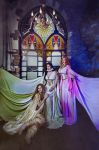 The Brides of Dracula. Vampire family by Afemera