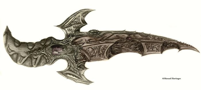 Flesh Dagger by Feuertaufe