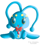 PKMNA - Pet Club Manaphy Plushie! by Powerwing-Amber