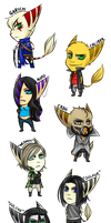 CHIBI TAKEOVER by DeviantTear