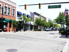Downtown Northville by peacetracati