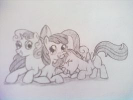Charity Auction Submission - Cutie Mark Crusaders by Animate-Ergonome