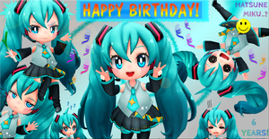 Happy Birthday, Miku  x) by ArisenStar