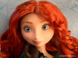 Merida Brave Doll by Super-Moogles