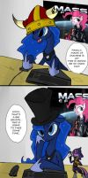Luna vs Mann vs Machine by juanrock