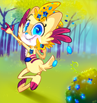 Free As a Flower by TheStripedKit