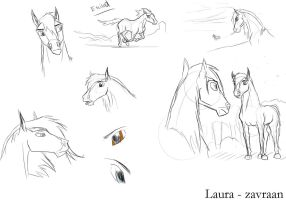 Cay sketches by zavraan