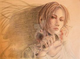Ymir -- realistic version (hand drawn) by Akatsuki-Rei