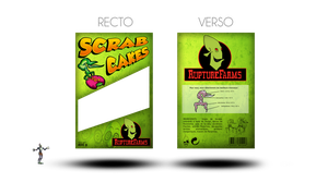 Scrab Cakes packaging by LunarIceCream