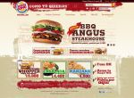 Burger King Site for Medellin by camilojones