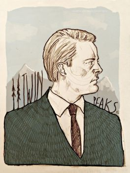 Twin Peaks : Agent Cooper by 666solitaryman