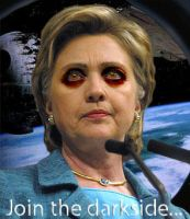 Sith lord Clinton by SatanicRetribution
