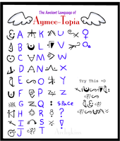 Aymee-Topia Language by Archykins