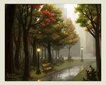Autumn in the Park by Kecky