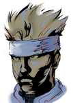 Ramdom - Solid Snake by Xeon-Licrate