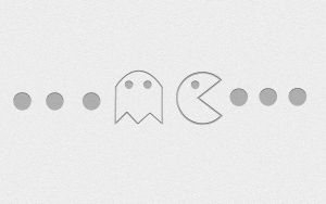 Minimalist Pac Man by rephl