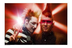 PunksAflame by MarkGreenmantle