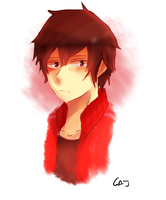 Shintaro Doodle by GodlyAppleJuice